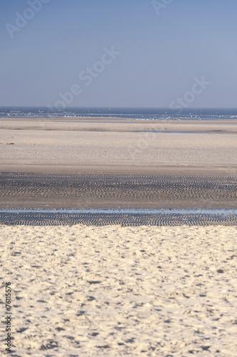 canvas print picture Beach of Amrum