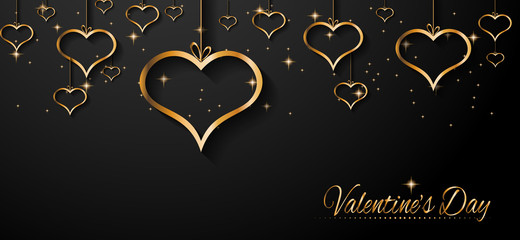 San Valentines Day background for dinner invitations