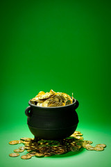 Pot of Gold: Overflowing Treasure Pot