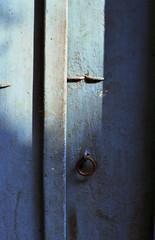 Vintage front door in India