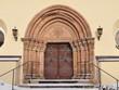 church portal ,village Nossen,Germany