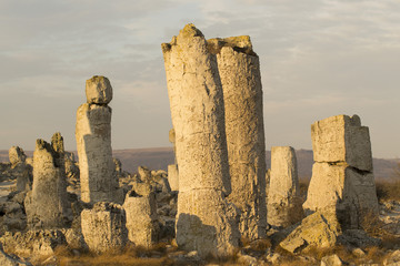 Standing Stones natural phenomenon in Bulgaria