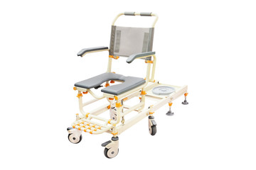 wheelchair for showering