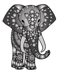 elefante mandala maori