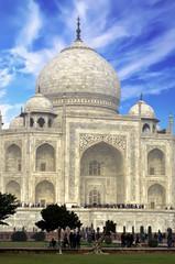 Taj Mahal, landmark of Agra in India