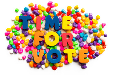 time for vote
