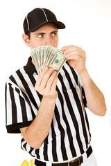 Referee: Hiding Behind Money Fan