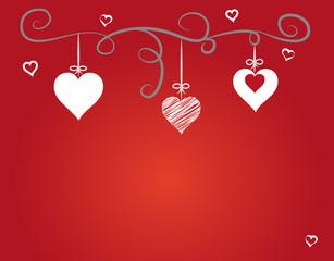 Liebesgruß in Rot, Vektor