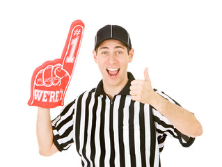 Referee: Ref Gives the Thumbs Up