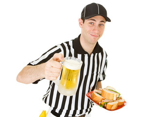 Referee: Ref with Game Day Food