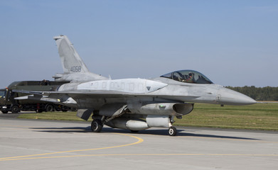 Military aircraft. Figthting Falcon