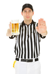 Referee: Pass Interference with Beer