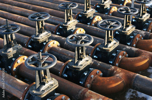 Oil and gas pipe line valves - 76118300