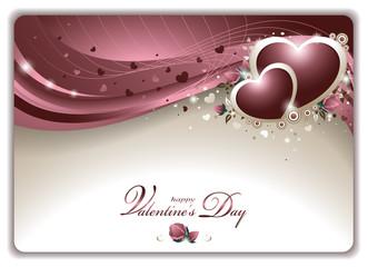 Elegant Valentine's Card