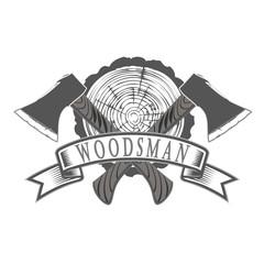 emblem lumberjack