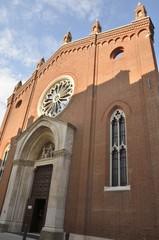 Santa Corona church in Vicenza, Italy