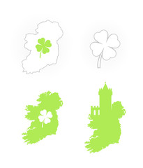Icon of Ireland Symbols
