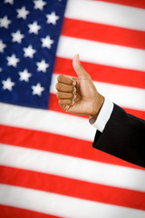 Politician: Man Gives Thumbs Up