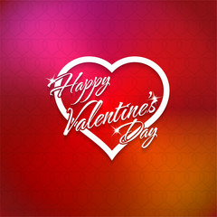 February 14 Happy Valentines Day Card