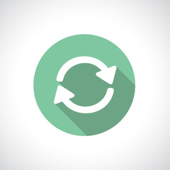 Recycle or pre-loader icon.