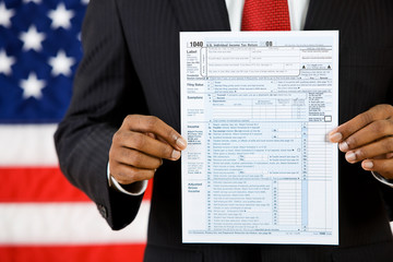 Politician: Showing the US Tax Form for 2008