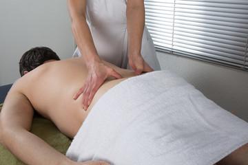 Massage des reins
