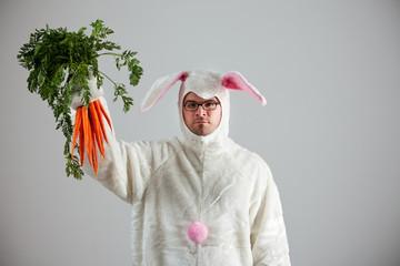 Bunny: Rabbit Succeeds in Getting Carrots