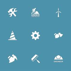 Construction Tools Vector Icon Design Set 2