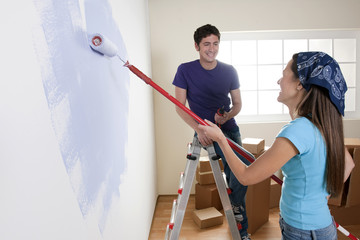 Painting the New Home