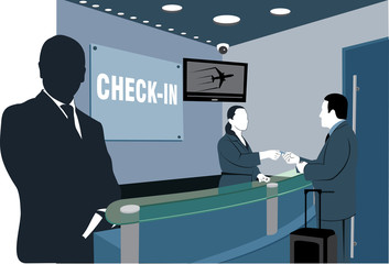 Flight check in