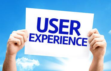 User Experience card with a beautiful day
