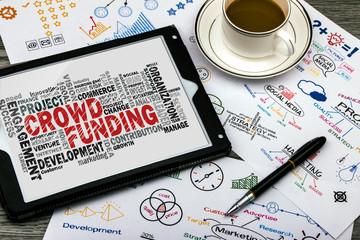 crowd funding word cloud