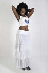giovane bella ragazza africana