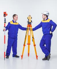 engineers on site
