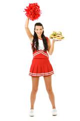 Cheerleader: Cheering for Sandwiches