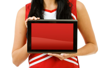 Cheerleader: Blank Digital Tablet