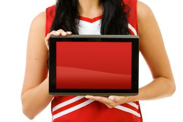 Cheerleader: Blank Digital Tablet