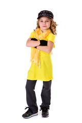 Dance: Little Girl Hip Hop Dancer with Tough Attitude