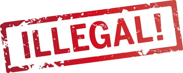 stempel Illegal