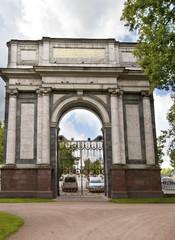 Pushkin. Catherine Park. Orlov (Gatchinskiye) Gate