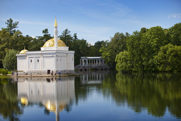 "Pavilion ""Turkish bath"". Catherine Park.Pushkin (Tsarskoye Selo)"