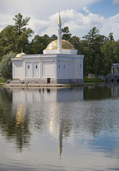"Pavilion ""Turkish bath"".Catherine Park. Pushkin . Petersburg.."