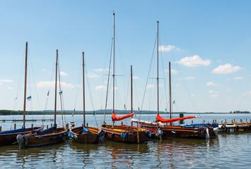 Segelboote auf dem Steinhuder Meer