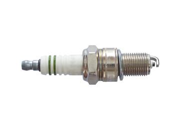 Spark plug isolated on white background