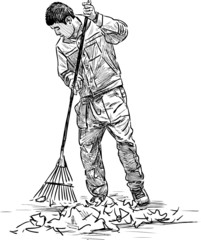 cleaner in the park