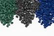 3 verschiedene Kunststoff Granulate - 76128748