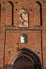 Church of St. George (Kirche Friedland). Pravdinsk, Kaliningrad
