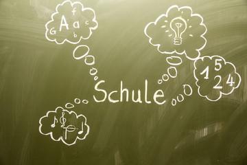 Schule - Wolken