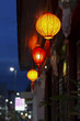 Chinese lanterns in downtown