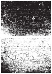 Grunge black and white texture Distress texture
